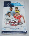 2017 18 TOPPS UEFA CHAMPIONS LEAGUE CHROME SOCCER HOBBY BOX