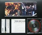 ROCK CITY ANGELS Young Man's Blues 1988 JAPAN 1ST PRESS CD w/OBI 25P2-2462 GLAM