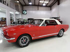 1966 Ford Mustang GT Coupe  Several rare GT options 1966 Ford Mustang GT Coupe  A Code 289ci 225 hp V8  4 Speed Manual