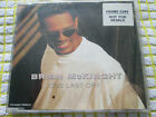 Brian McKnight One Last Cry MERCD 394 promo sticker UK CD Single
