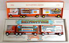 2pc Winross Diecast Reithoffers Circus Shows Doubles Truck Lot York Fair 1 64