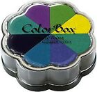 COLOR BOX Petal Point Ink Pad SPRING ANNUALS 8 Colors NEW Free Shipping