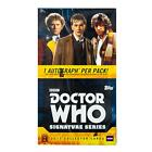 Doctor Who: Signature Series Trading Cards Box (Topps 2017) - 4 AUTOS PER BOX!