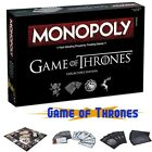 Game of Thrones Monopoly Board Game Party Home Game Collector's Edition Fun Game