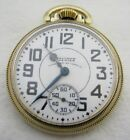 ANTIQUE 16S WALTHAM VANGUARD 23 JEWEL RAILROAD POCKET WATCH PARTS REPAIR