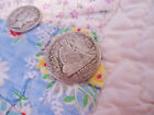 ANTIQUE VICTORIAN 1853 SEATED LIBERTY SILVER COIN LOVE TOKEN ALLIE