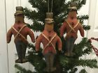 Primitive* Handcrafted* Toy Soldiers* Christmas Ornaments* Ornies* Bowl Filler