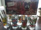 12 Days of Christmas Glasses Indiana Glass Vintage In original Box