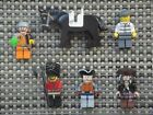 Lego Jack Sparrow minifigure action figure London Guard parts accessories lot