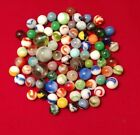 Vintage Marbles Lot of 81 handmade antique