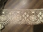 Old Antique Linen Maltese Lace Trim  3