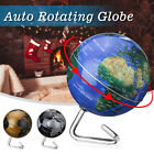 ° Automatic Rotating Earth Globe World Map Geography Educate Tool Gift !