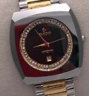 NEW RADO VINTAGE DIASTAR MEN WRIST WATCH SWISS DIAMONDS S3