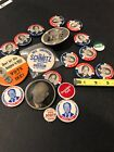 """1952 Campaign """"I LIKE IKE"""" EISENHOWER Buttons & Gerald Ford Pins! Lot Of 20"""