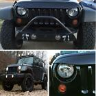 For Jeep Wrangler JK Undercover Nighthawk Light Brow BLK Angry Grill Protector