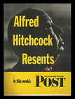 1 ULTIMATE ALFRED HITCHCOCK  TV  MOVIE POSTER  RAREST  BEST ON THE MASTER