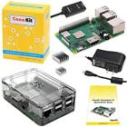 CanaKit Raspberry Pi 3 B+ B Plus with Premium Clear Case and 25A Power Supply