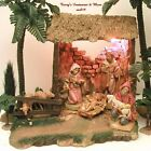 FONTANINI ITALY 5NATIVITY STABLE+ 6 FIGURES 54503 BOX