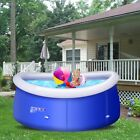8 ft x 30 inch Easy Set Giant Inflatable Above Ground Outdoor Spa Swimming Pool