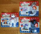 NEW LOT 3 American Trio McDonald's TY Beanie Babies, 2 Happy Meal bags