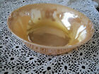 Fire King Serving Bowl Orange 8 1/4