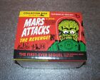 MARS ATTACKS The Revenge! Complete FACTORY Set Base + Pencil + Parallels + 2 HIT