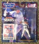 2000 Hasbro SLU Starting Lineup Extended Series ALEX RODRIGUEZ w/ Card Mariners