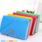 Letter A6 Paper Expanding File Folder Pockets Document Organizer