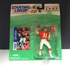 Starting Lineup 1997 NFL Elvis Grbac figurine and card