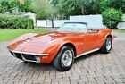 1970 Chevrolet Corvette Convertible Numbers Matching Engine Power Steeri 1970 Chevy Corvette Convertible Numbers Matching Engine 1 Family Owned