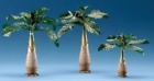Fontanini Palm Trees Italian Nativity Village Accessory Figurines 3 Piece Set