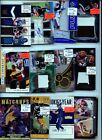 HUGE 1,000 CARD PATCH AUTO JERSEY ROOKIE INSERT #'D SPORTS CARD COLLECTION LOT $