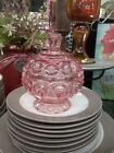 STARS COVERED COMPOTE CANDY DISH