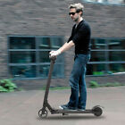 250W 23KM H Electric Foldable Scooter Skateboard Display For Adults Black
