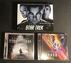 STAR TREK INTO DARKNESS BEYOND DELUXE EDITIONS MICHAEL GIACCHINO CD SOUNDTRACKS