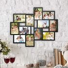 Collage Picture Frame Holds 12 Images Wall Hanging Multiple Photos 4 x 6