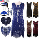 1920s Flapper Dress Gatsby Wedding Party Evening Formal Roaring 20s Prom Costume