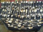 Vintage Silver Plate Flat Ware 100 Pieces