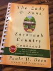 Paula Deen Signed Cookbook The Lady  Sons Savannah Country Cook book