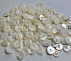 Natural Shell or Pearl Button Lot for Crafts