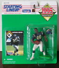 1995 Natrone Means Rookie Chargers Starting Lineup mint in pkg w/ football card