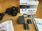 EXC+ CANON EOS 20D DIGITAL SLR BODY 3BATTs CHARGER STRAP MORE ++