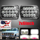 Fit 78 1986 Ford F150 H6054 7x6 LED Sealed Beam Headlight Replace HID GMC C2500