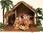 FONTANINI ITALY 5 ITALIAN 5PC STARTER STABLE w HOLY FAMILY NATIVITY 54558 MIB