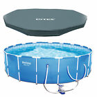 Bestway Steel Pro 12 x 30 Frame Above Ground Pool Set with Filter Pump + Cover
