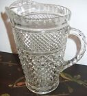Anchor Hocking Wexford 64 oz 2 Quart Pitcher Water Iced Tea Beverage Clear Glass