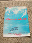 Vintage signed greg noll ride on the wide side surf movie poster surfboard 1960s