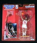 ALONZO MOURNING 1998 Edition NBA Starting Lineup Figurine & Upper Deck Card