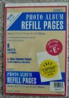 Photo Album Refill Pages New with Caption Stickers Holds 24 photos
