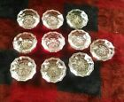 10 Vintage Glass Door Knobs w/o mountings.  (steampunk).
